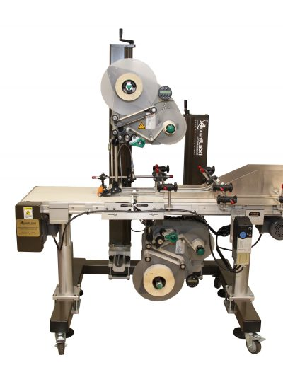 APEL70 Top & Bottom Pouch Labeler